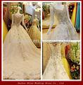Ywd11062 brilhantemente lace bainha real vestido de casamento da amostra top designers árabes casamento vestido de árabe foto