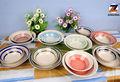 """Großhandel 6"""" 7"""" 8"""" 9"""" individuell lackiert chinesische keramik suppenschüssel gesetzt"""