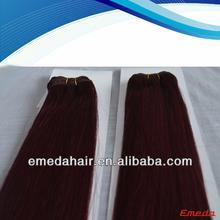 Fashonal and beautiful cheap peruvian remy hair weaving 99j