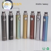 wholesale smoke shop Haha Vacuum coating, glossy Evod Passthrough Usb Battery