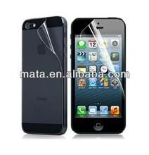 Anti-glare screen film for iphone5