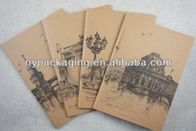 wholesale school a4 paper cheap notebook/popular recycled paper cover notebook/2014 custom printed notebook