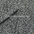 Tweed tela de lana de espiga para ropa