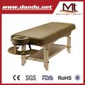Mt de masaje estante estante de la mesa de masaje cama archer- plana que se está desarrollando la mesa de masaje