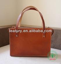 Wholesale leather women handbags,popular paris fashion leather women handbags,euro vegetable tanned leather women bags