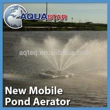 AQUASTAR 2hp new mobile paddle wheel aerator not china manufacturer