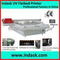 Indask de gran formato impresora plana uv/muebles/vidrio/acry/madera junta/mdf/muebles de impresión