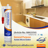 Top Grade, 100% Silicone Crystal Clear Transparent Sealant
