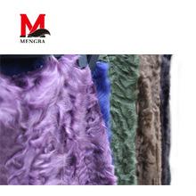 Chinese Swakara Fragrant real lamb skin,lamb fur blanket,Mengba