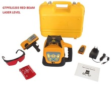 Red Beam Laser Leveling Equipment, Automatic Rotary Laser level GTPFILO203