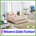Fille de style en cuir lit mobilier de chambre lit g893# pour la vente