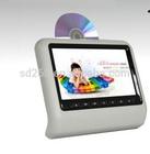 IR transmitter headrest game player 9inch touch screen car headrest dvd player for car