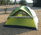 American camping tent / 3-person dome tent / outdoor tent camping