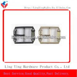 fashion design metal rhinestone belt buckle parts for dresses