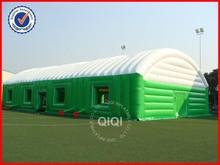 2014 claro tenda gramado inflável / inflável tenda bolha