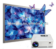 Home Theatre HDMI USB Native 720P 1280*800 HD LED TV Multimedia Video Projector