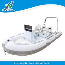 China CE PVC&Hypalon Aluminum Hull Rigid Inflatable Boat