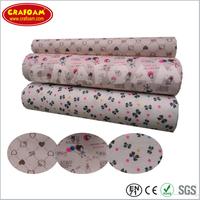 Nonwoven fabric printed felt