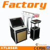 China XT laser CO2 laser marking machine for plastic date code marking