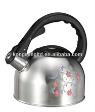 color changing water kettle cat flower