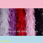Chandelle with Burnt Hackle Feather Boa bulk For Decoation