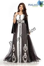 Premium Moroccan Kaftan Dress - Arabic Designer Caftan Abaya