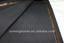 Herringbone 50% Polyester Wool Fabric for Suit with ready stock
