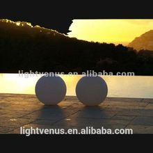 plastic light sphere,led glow orbs,illuminated ball light