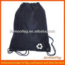 cheap dye sublimation mini linen drawstring bag