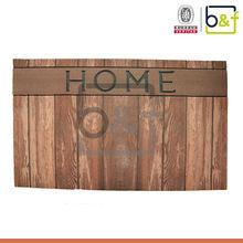 Hot new fashion design home goods 3d flocking nylon door entrance mats