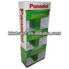 Panadol floor display stand for supermarket advertising