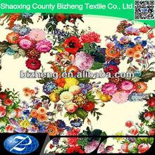 100% digital woven floral print rayon dresses