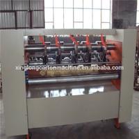 Corrugated cardboard slitter scorer machine