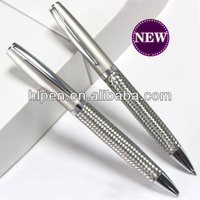Unique design stainless steel wire braid metal pen best promotional items of company