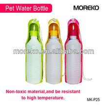Mini Plastic Portable Foldable Pet Water Bottle MK-P25