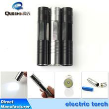 Brother electronics manufacturers selling led mini torch light aluminium alloy glare flashlight lighting