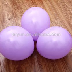 10inch 2.3g light purple balloons lighted outdoor balloon