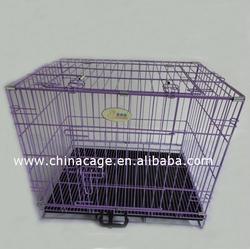 2/0 ifeet folding pet cage,metal dog cage
