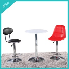 Industrial Furniture Leather Covered Bar Stool/chair king bar stools