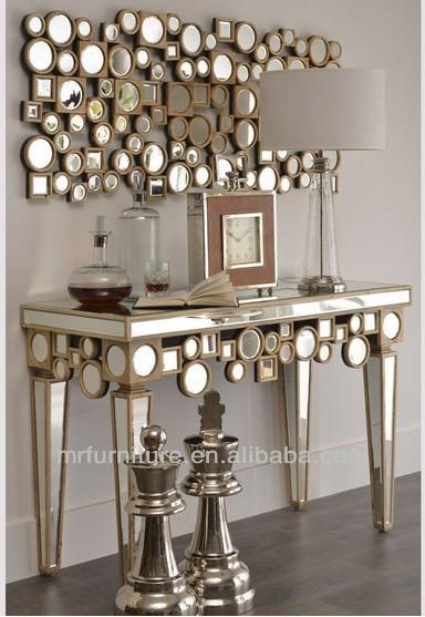 Heykel ah ap aynal konsol duvar ayna mobilya cam masalar for Casa set de table