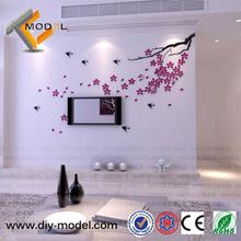 Room Decor 3D Wall Stickers/Beautiful Wall Stickers Wholesale/Art Wall Sticker Home Decor