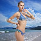 OEM &ODM Digital print soft pad stylish bikini lad
