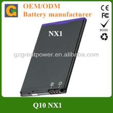 2100mah mobile phone battery for blackberry NX1 Q10