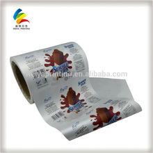Vivid printed automatic packaging film roll,packaging film