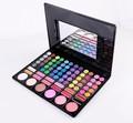 msq 78 colores de sombra de ojos paleta de cosméticos con 12 colores brillo de labios maquillaje sombra de ojos
