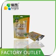 paper food bag with window dog poop bags custom printed