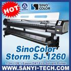 3.2m Plotter, Plotter eco solvente SJ1260, Con DX7 cabezal de impresion
