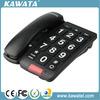 black big buttons basic function hotel telephone set