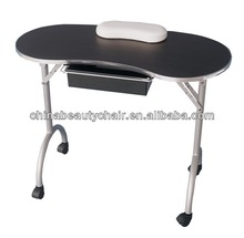 Folded cheap manicure table