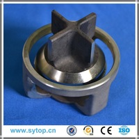 Stellite alloy valve seat inserts, pressure cap and oil equipment parts